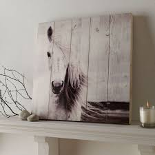 on wall art pictures of horses with horse print on wood wall art grahambrownus