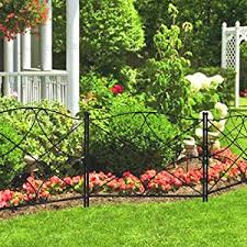 garden fence. This Garden Fence Is Made Of Thicker Stake Which Will Be More Durable. So You Don\u0027t Have To Worry About That Your Beatiful Flower Bed Destroyed When
