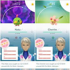 Pokemon Go Việt Nam (PoGoVN) : 4 ngày vui: 4 shiny, 5 hundo, mỗi ngày 1 cặp  shiny hoặc hundo, ngày thứ 3 thì 1 bé hundo vô làm kỳ đà cản mũi với 2 bé  shiny :v