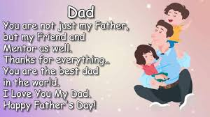 I Love You My Dad Fathers Day Message Status Video