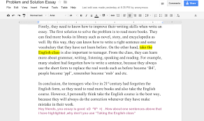 teaching the teacher peer editing using google drive the students also wrote notes at the bottom of the essay to offer advice this was a good opportunity to teach my students about direct language this is