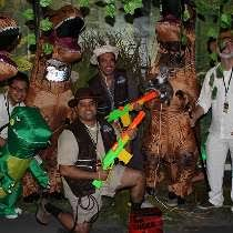 hulu corporate office share.  Office Hulu Photo Of Welcome To Jurassic Park Halloween Huluween On Corporate Office Share
