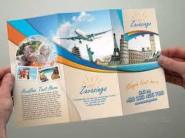 Brochure Samples Travel Brochure Template 26 Download In Psd Vector Eps Illustrator