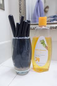 how to wash your makeup brushes safely with baby shoo 6