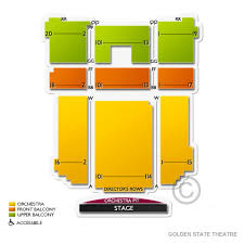Golden State Theater Seating Chart Golden State Theatre 2019 Seating Chart