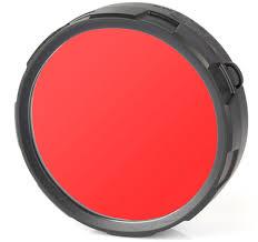 <b>Фильтр</b> для фонарей <b>Olight FM20</b>-<b>R</b>, цвет: <b>красный</b>