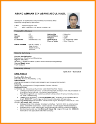 How To Create Resume For Job How To Make Resume For Job 24 Online Resume Builder Pesproclub 5