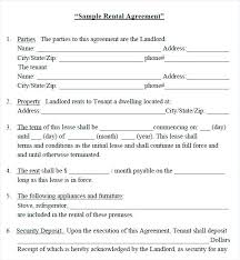 Printable Rental Application Template Home Lease Apartment Contract ...