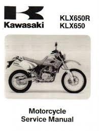 1996 1999 2001 kawasaki klx650 motorcycle service manual 1993 1996 1999 2001 kawasaki klx650 motorcycle service manual
