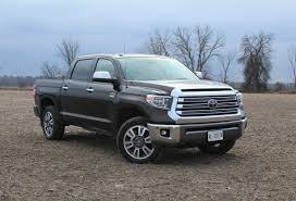 2018 toyota tundra platinum 4 4 1794 edition review bloodbath in ranch country