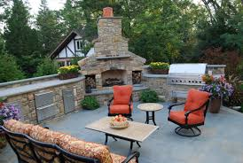 backyard pool and outdoor kitchen designs. Exellent Designs Backyard Designs With Pool And Outdoor Kitchen  For Fine On O