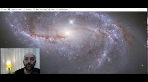 Also called arp 12, it's about 62,000 light years across, smaller than the milky way by a fair margin. Imagem Da Galaxia Ngc 2608 Tirada Pelo Telescopio Hubble Youtube