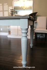 Dining Room Table Makeover So Much Better With Age Extraordinary Paint Dining Room Table Property