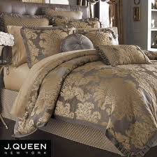 bold and modern damask comforter set j queen new york babylon bedroom