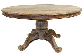 distressed round dining table dining wood