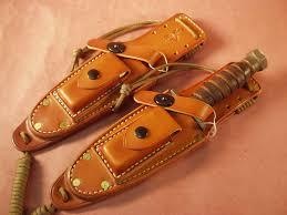 usaf pilot survival knife custom leather sheath 120 00