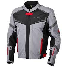 scorpion phalanx jacket light grey