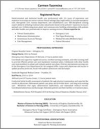 Rn Resume Samples How To Write A Nurse Resume Example