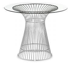 platner furniture. Warrenplatnerdiningtablejpg Platner Furniture A
