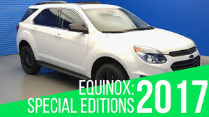2017 Chevy Equinox: Special Editions - YouTube