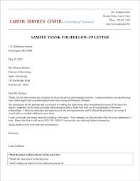 3+ Interview Follow-Up Letter Templates - Pdf | Free & Premium Templates