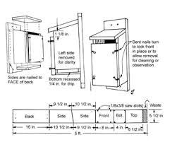 FOR    Eastern Bluebirds Nesting Structure Design and PlacementBluebird House  after Davis