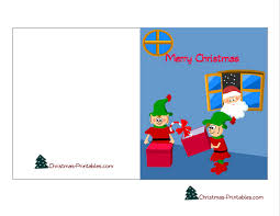 Free Printable Christmas Cards Colouring Pages For Kids 28421
