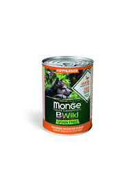 <b>MONGE</b> BWILD GRAIN FREE PUPPY DUCK 400g <b>MONGE</b>.SHOP