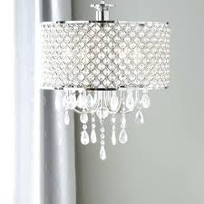 drum chandeliers with crystals drum chandelier crystal diy drum shade chandelier with crystals