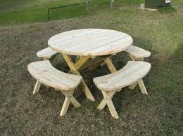 plans for round picnic table round picnic table plans