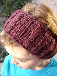 Knit Ear Warmer Pattern Classy Earwarmer Headband Knitting Patterns In The Loop Knitting