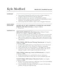 Medical Research Assistant Lovely Medical Research Resume Sample
