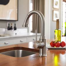 Hansgrohe Talis Kitchen Faucet Hansgrohe 04216830 Talis C Prep Kitchen Faucet In Polished Nickel