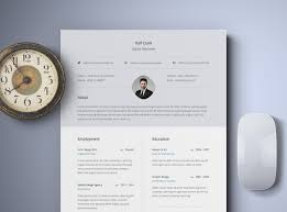 Resume Mockup Free Free Classy Resume Template Free Design Resources 21