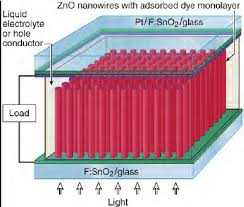 schematic diagram of the nanowire based dye sensitized solar cell schematic diagram of the nanowire based dye sensitized solar cell from ref baxter et al 2006 pradhan et al 2007 have fabricated dsscs by using