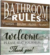 See more ideas about bathroom farmhouse style, farmhouse decor, metal wall decor. Decorative Farmhouse Bathroom Wall Decor Ideas You Ll Love Decorating Ideas And Accessories For The Home Creative Ideas For Every Room