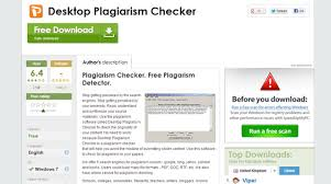 desktop plagiarism checker