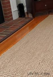 that wonderful chunky texture that i loved also caused some troubles the first three days my feet ached and felt tired granted we hadn t gotten a rug