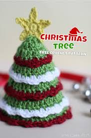 Free Crochet Christmas Tree Patterns Beauteous Christmas Tree Free Crochet Pattern