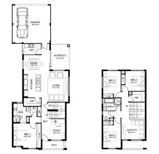8 Metre Wide House Designs Home Architecture Double Storey Bedroom House Designs Perth