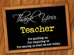 Thank You Teacher Quotes Thank you Messages for Teachers 100greetings 13
