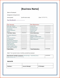 Free Payslip Template Word