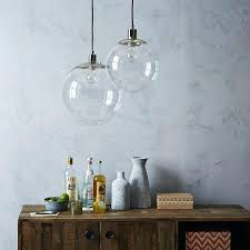 large glass globe pendant light best choice of large globe pendant light in clear west elm large glass globe pendant light