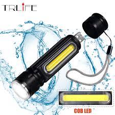 <b>Multifunctional LED</b> Flashlights <b>USB</b> Inside Rechargeable Battery ...