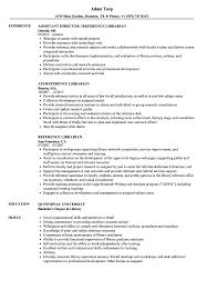 Reference Librarian Resume Samples Velvet Jobs