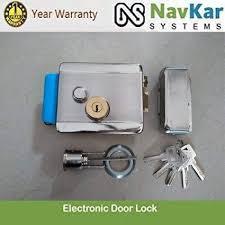 Navkar Standard Size Electronic <b>Door Lock</b> with Biometric <b>RFID</b> ...
