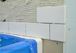 tiling around a new bathtub tile installation surround height how to tub