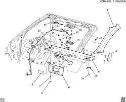 2006 pontiac g6 radio wiring diagram wirdig pontiac g6 convertible top parts