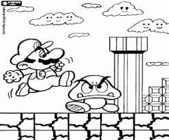 Coloring Pages Mario Mario Bros Coloring Pages Printable Games