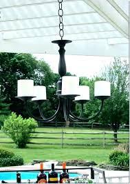 battery chandelier outdoor medium battery operated outdoor chandelier